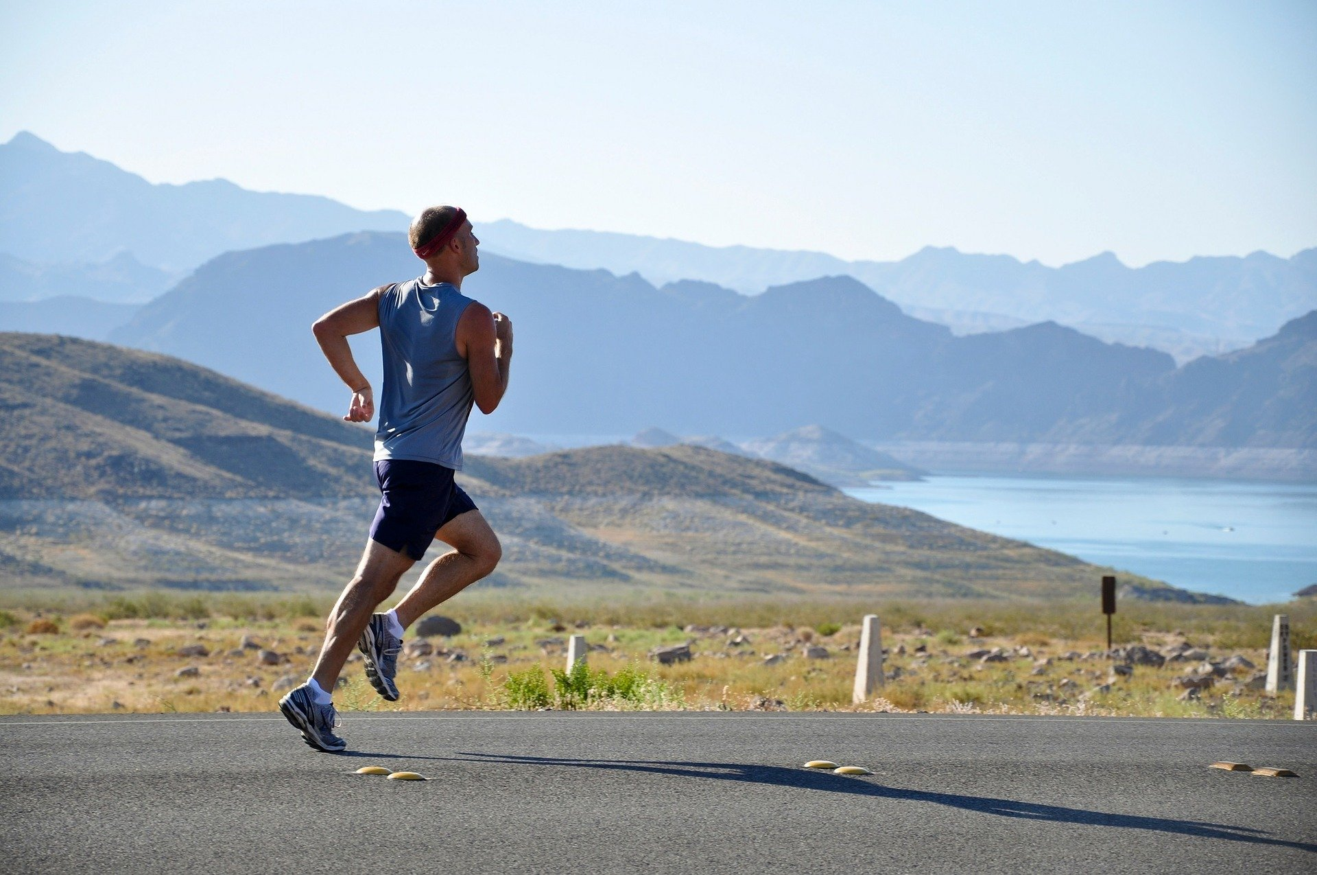 man-running-mountain-views